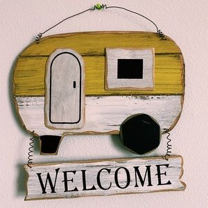 Decor welcome sign